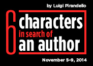 Six Characters in Search of an Author - logo