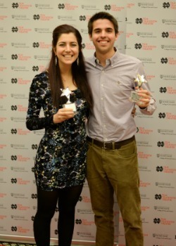 Nicole Sganga & Brian Lach - NDSFF Audience Choice Award winners 2015