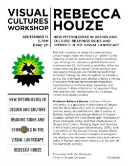 Visual Cultures Workshop flyer