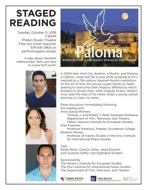 Paloma flyer - small