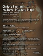 Audition flyer - Christ's Passion