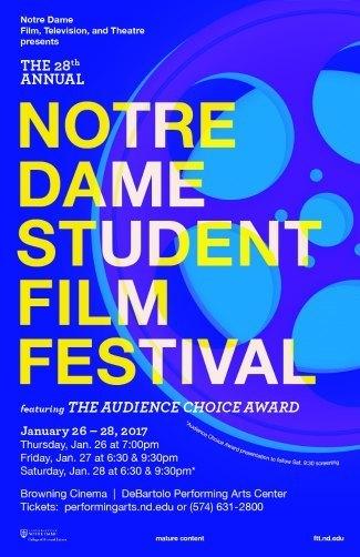 Notre Dame Student Film Festival 2017