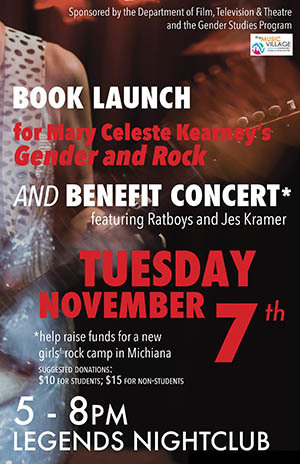 Gender and Rock book launch