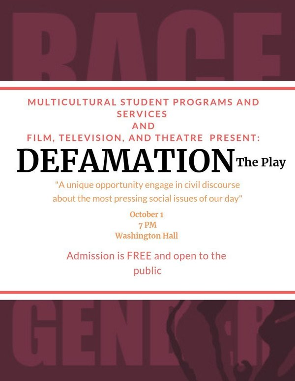 Defamation The Play