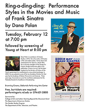 Dana Polan - Ring-a-ding-ding: Performance Styles in the Movies and Music of Frank Sinatra