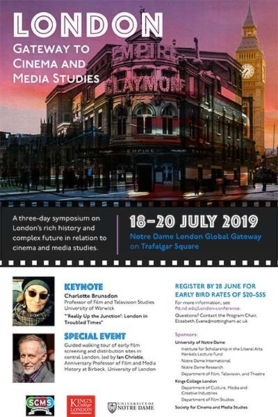 London Cinema Conference poster July 2019
