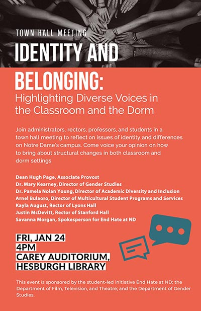 Identity and belonging panel