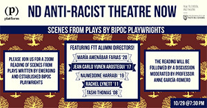 ND Anti-Racist Theatre NOW image