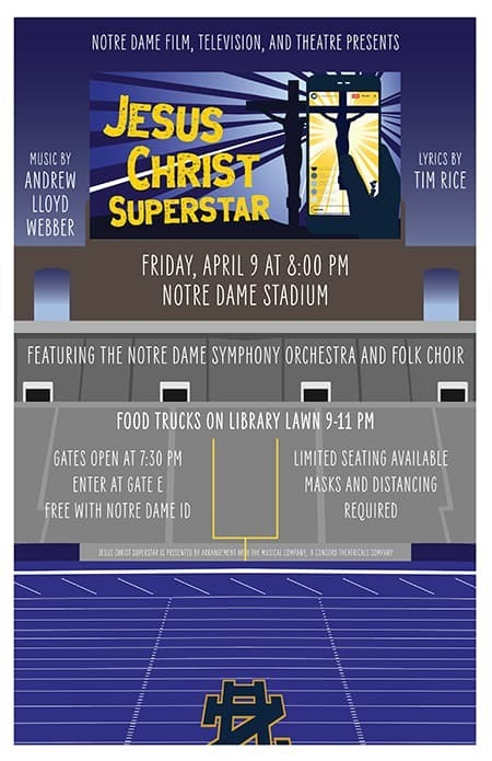 Jesus Christ Superstar Concert Poster